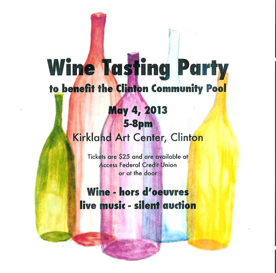 wine tasting party jack boynton community pool